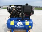 Polar Air! Eaton Compressor18 HP 43CFM 60 Gallon Gas Drive A
