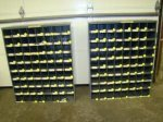 Parker Hannifin Adapters Fittings w 2 Storage Bins Lot 600 P