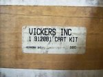 Vickers Inc 912081 Cart Kit New in Box