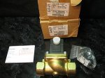 "Burkert 1"" FPT 24 VDC 2 Way Normally Closed Solenoid Valve"