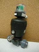 Burkert Actuated Valve w Mechanical Switch New