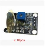 10x Piezoelectric Vibration Tapping Vibration Sensor Switch