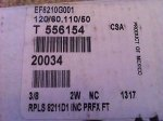 Asco Red Hat II Solenoid Valve EF8210G001 New Never Used 3 8