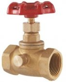 LDR 022 5303 1 2 inch Stop and Waste Valve Lead Free Brass 0