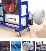 SERBOT-II HighRise Window and facde Cleaning System